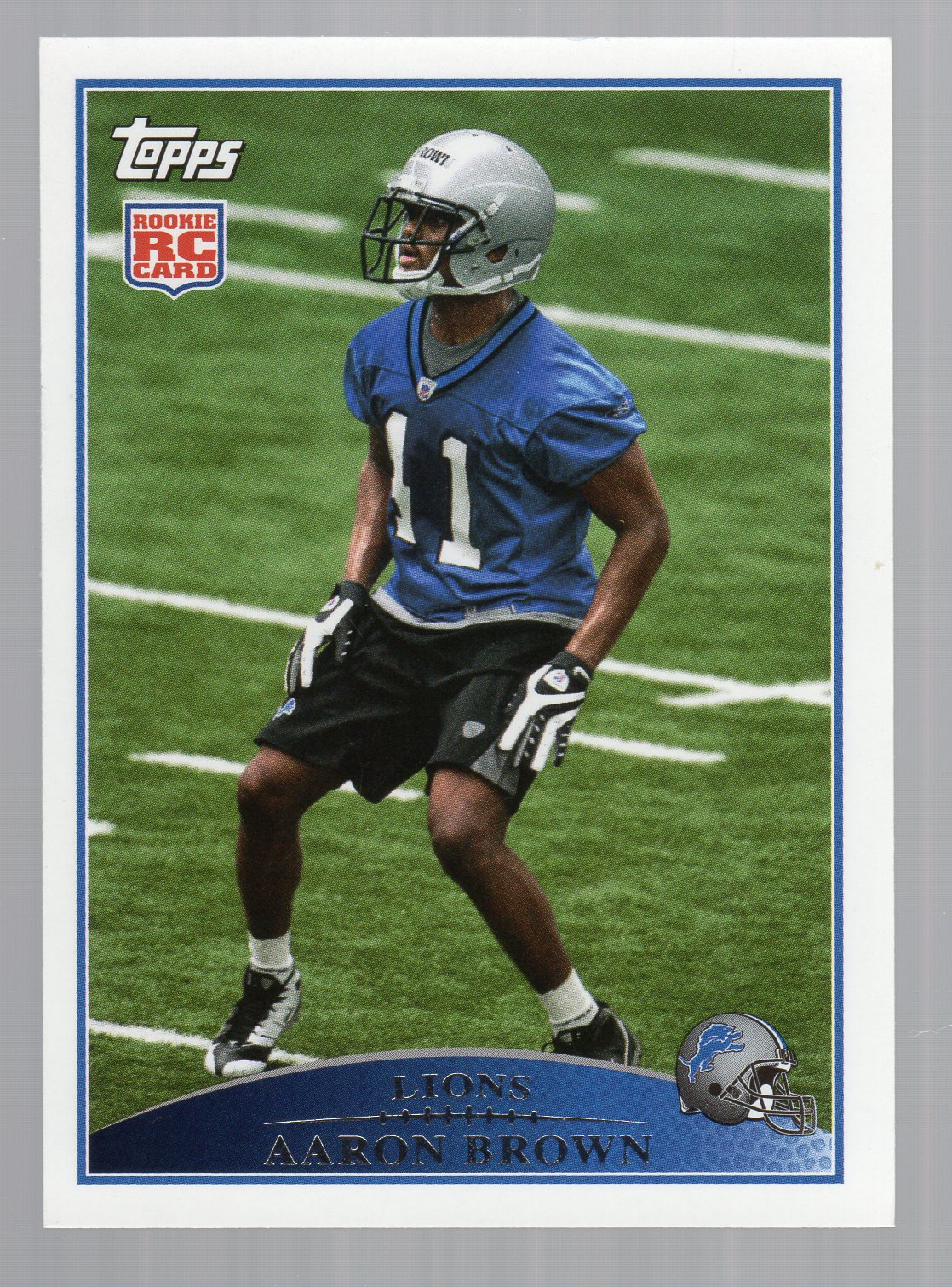 2009 Topps #331 Aaron Brown RC