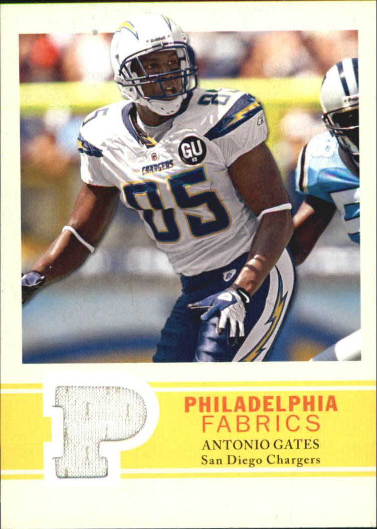 2009 Philadelphia Fabric #PFAG Antonio Gates