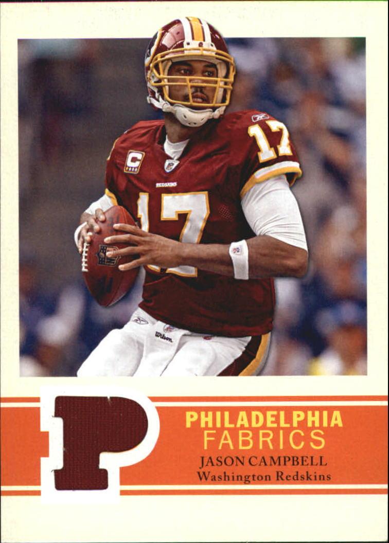 2009 Philadelphia Fabric #PFCA Jason Campbell