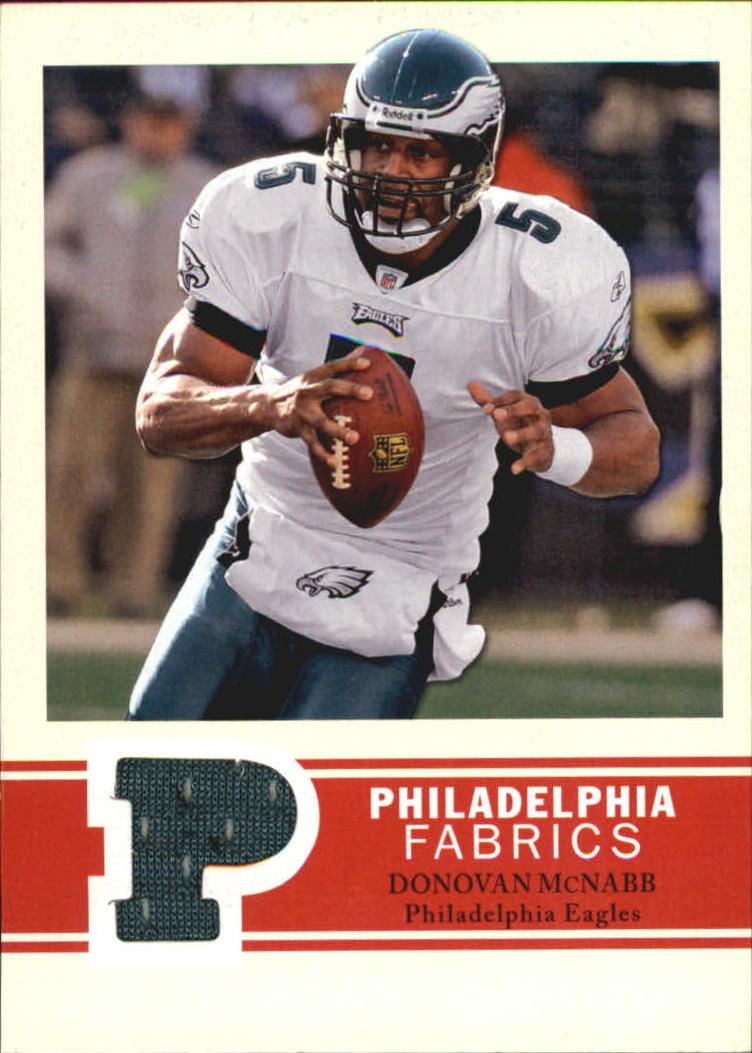2009 Philadelphia Fabric #PFDM Donovan McNabb