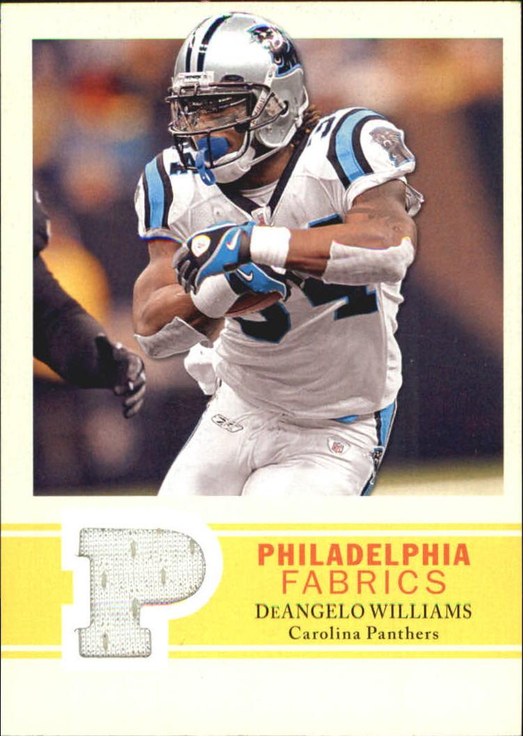 2009 Philadelphia Fabric #PFDW DeAngelo Williams