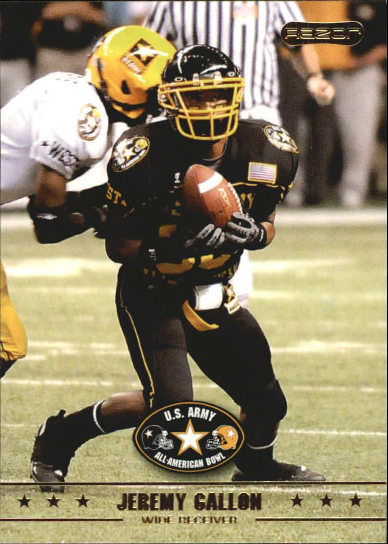 2009 Razor Army All-American Bowl #6 Jeremy Gallon