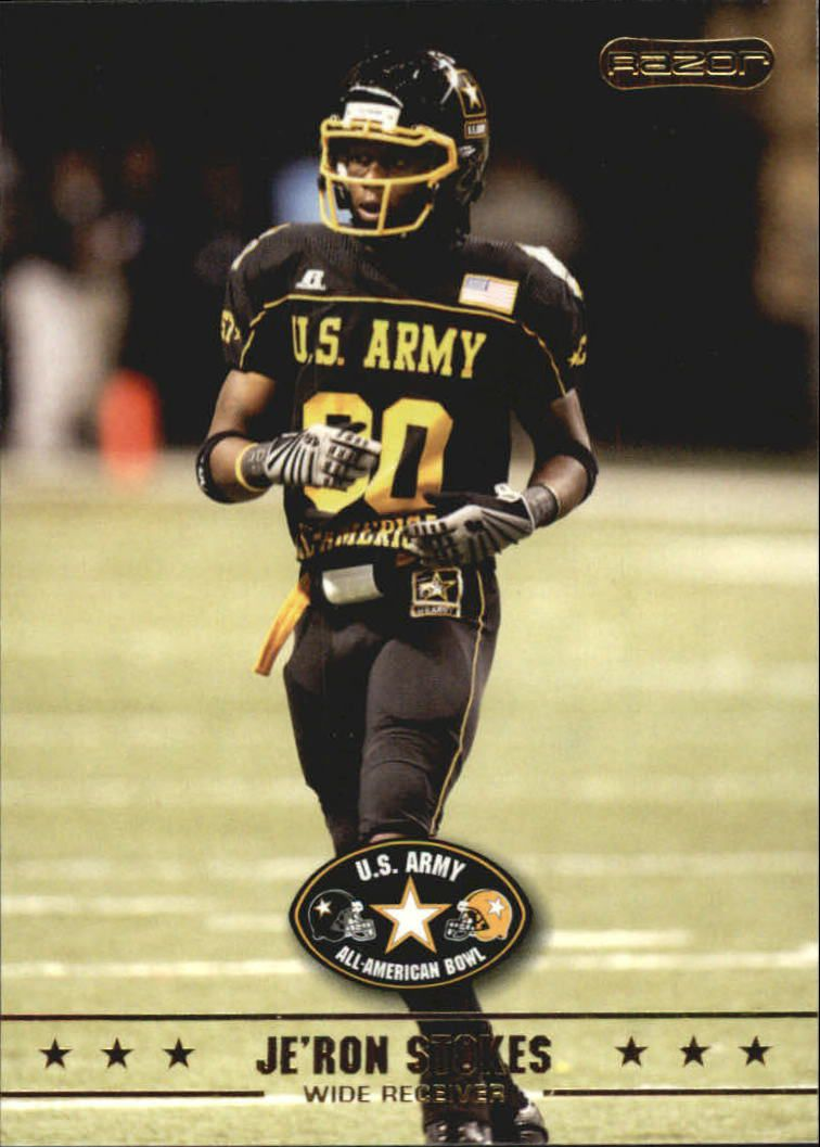 2009 Razor Army All-American Bowl #7 Je'Ron Stokes