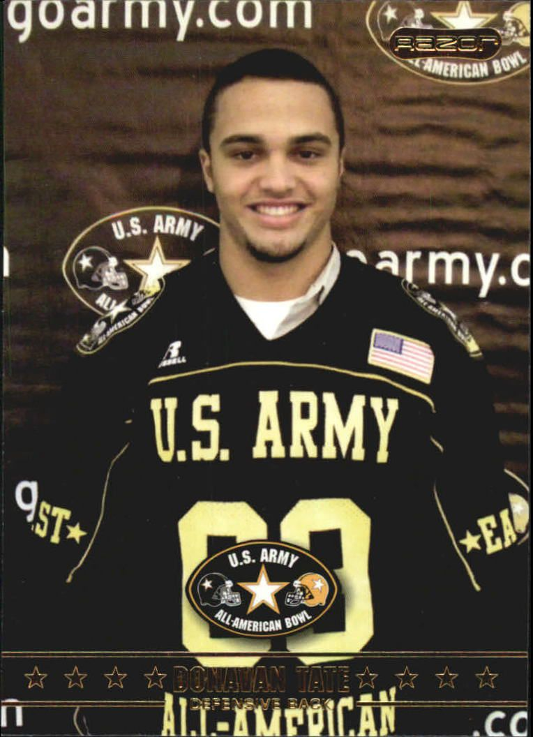 2009 Razor Army All-American Bowl #9 Donavan Tate