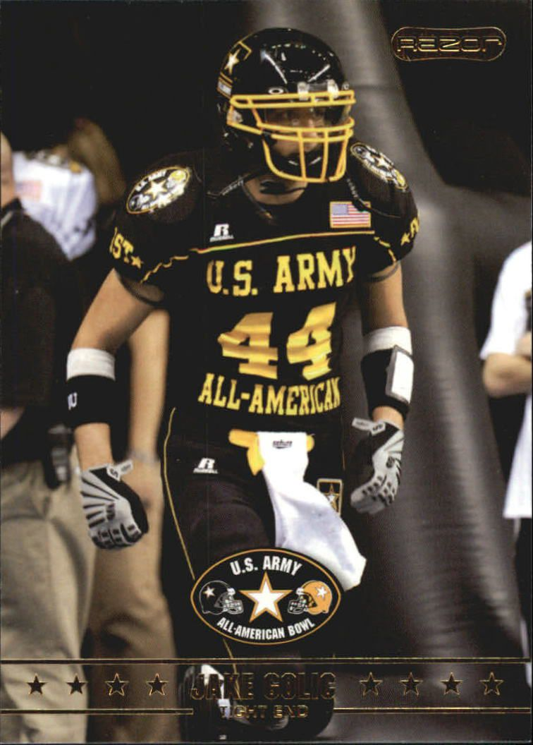 2009 Razor Army All-American Bowl #11 Jake Golic