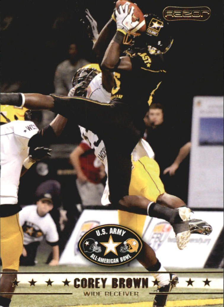 2009 Razor Army All-American Bowl #13 Corey Brown