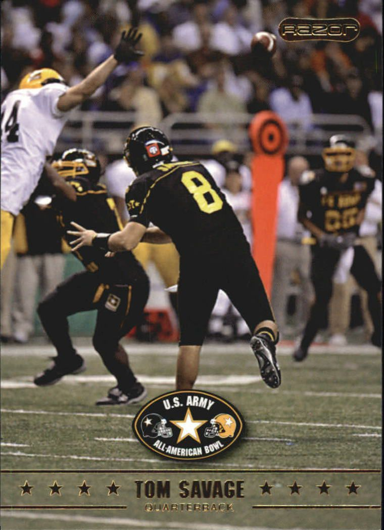 2009 Razor Army All-American Bowl #15 Tom Savage