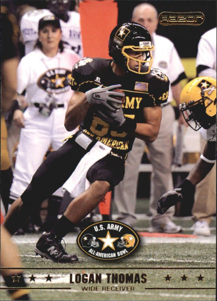 2009 Razor Army All-American Bowl #17 Logan Thomas