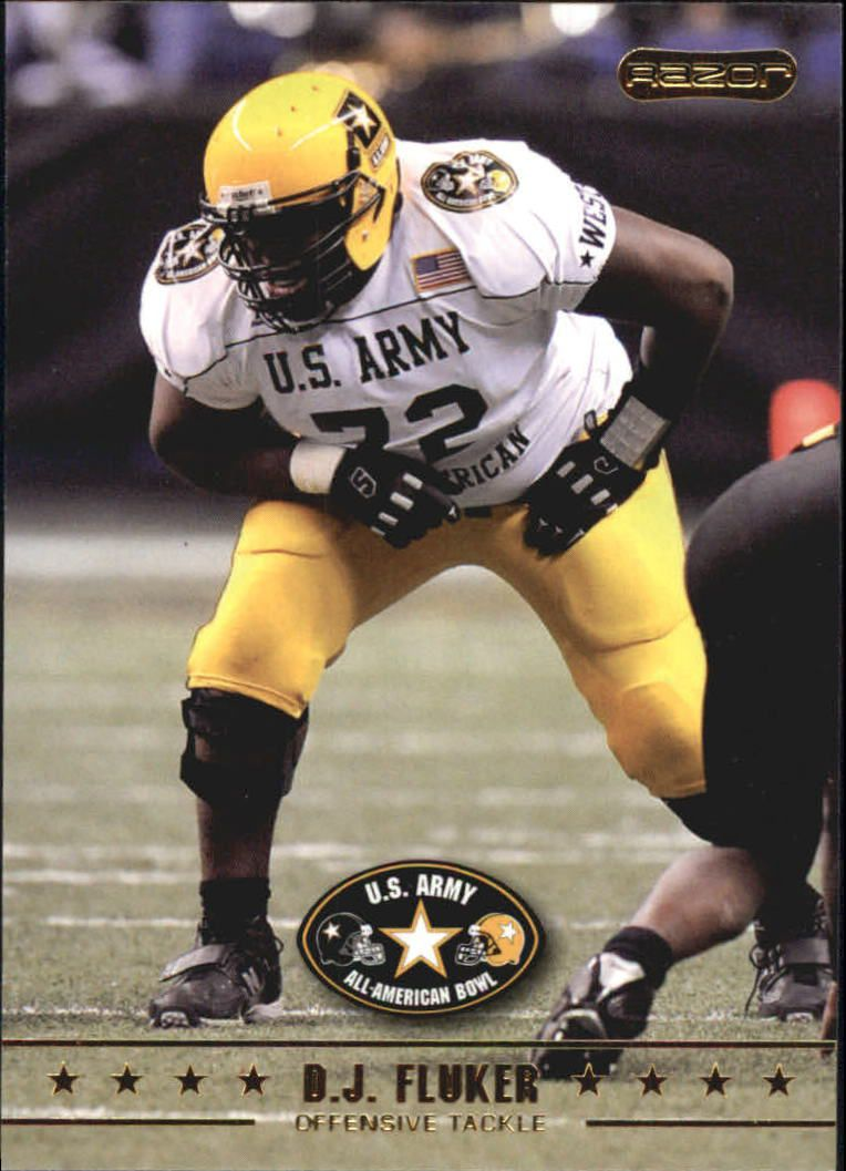 2009 Razor Army All-American Bowl #18 D.J. Fluker