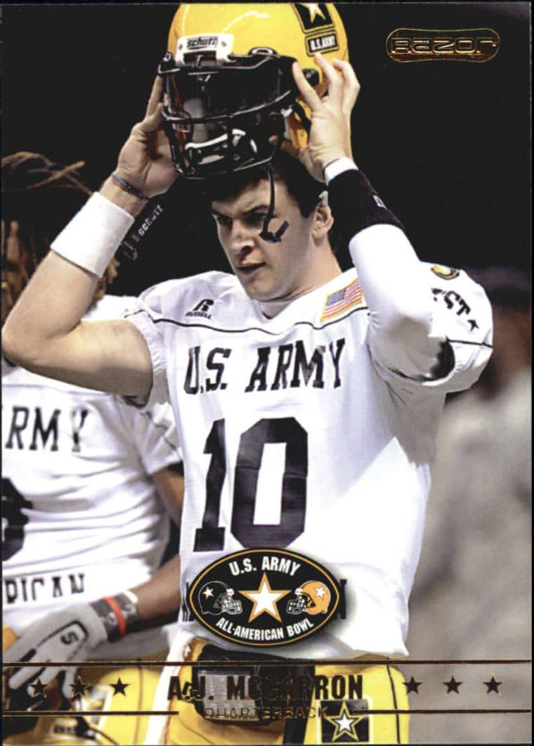 2009 Razor Army All-American Bowl #21 A.J. McCarron