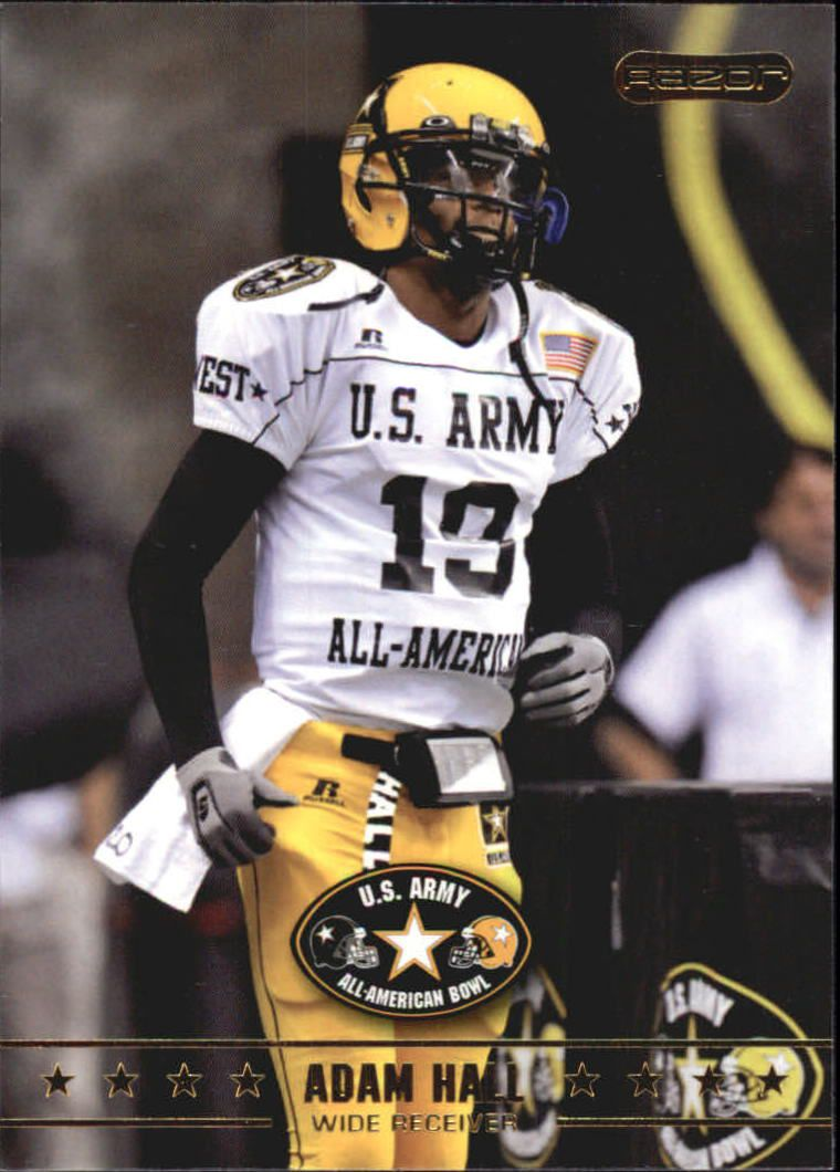 2009 Razor Army All-American Bowl #22 Adam Hall