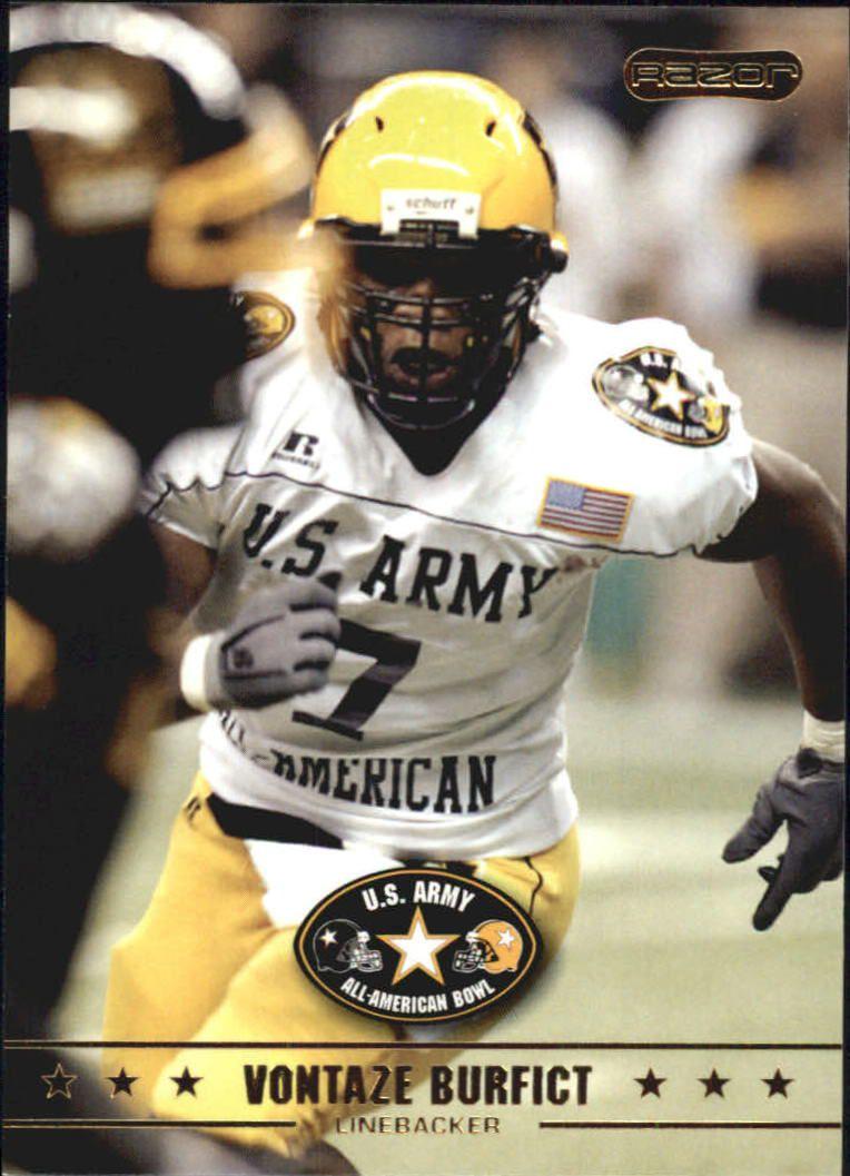 2009 Razor Army All-American Bowl #23 Vontaze Burfict