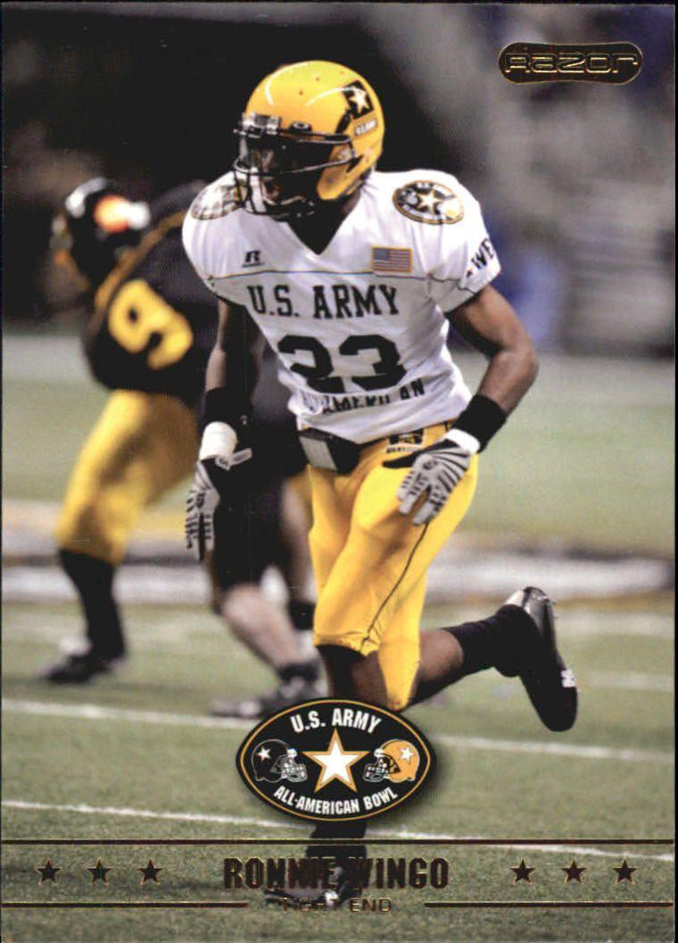 2009 Razor Army All-American Bowl #24 Ronnie Wingo