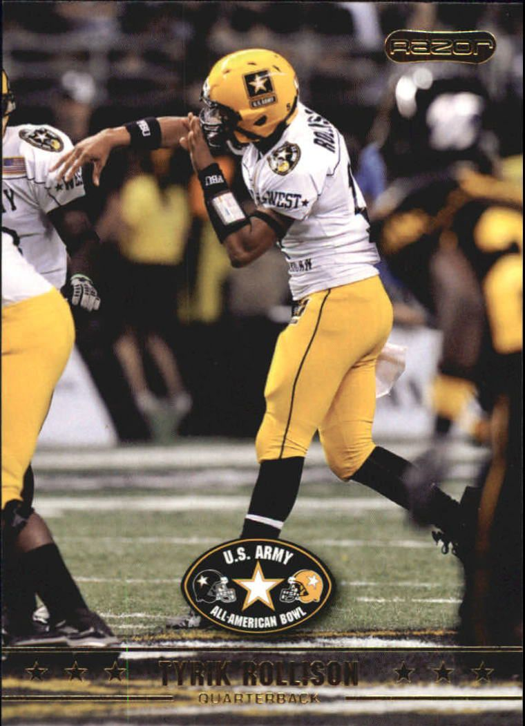 2009 Razor Army All-American Bowl #25 Tyrik Rollison