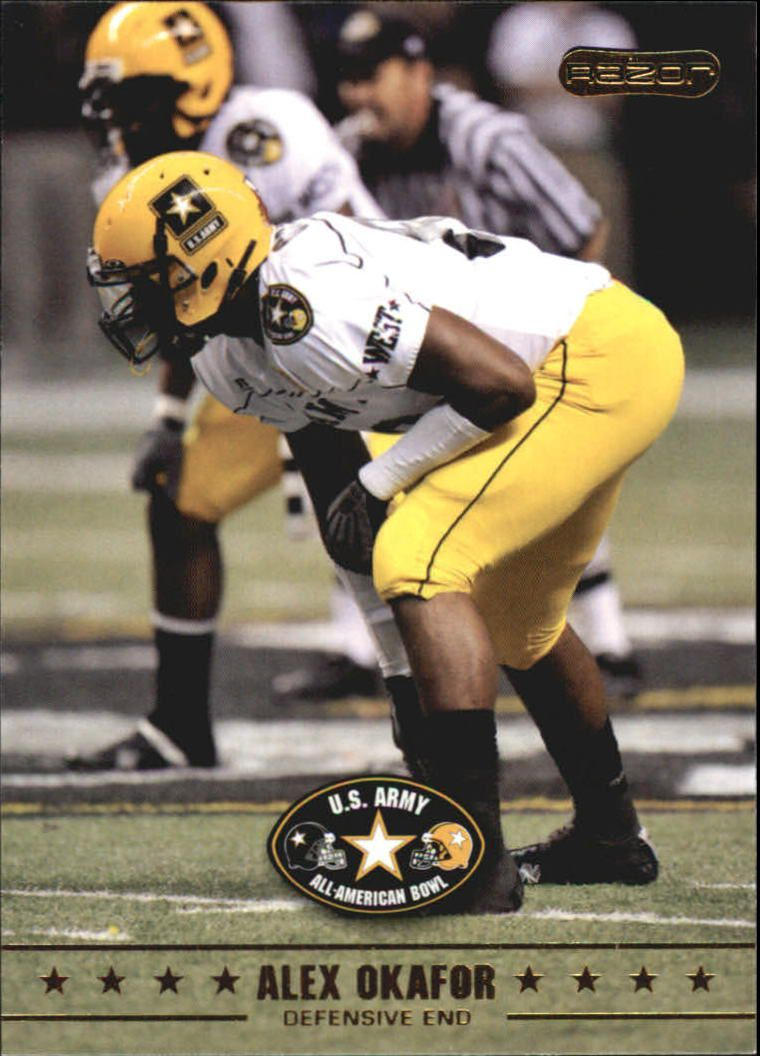 2009 Razor Army All-American Bowl #37 Alex Okafor