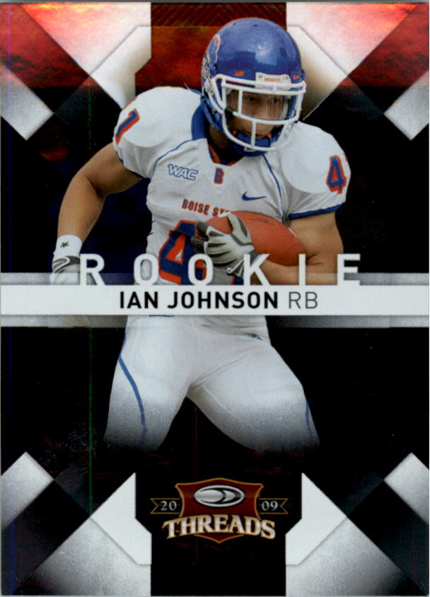 2009 Donruss Threads #144 Ian Johnson RC