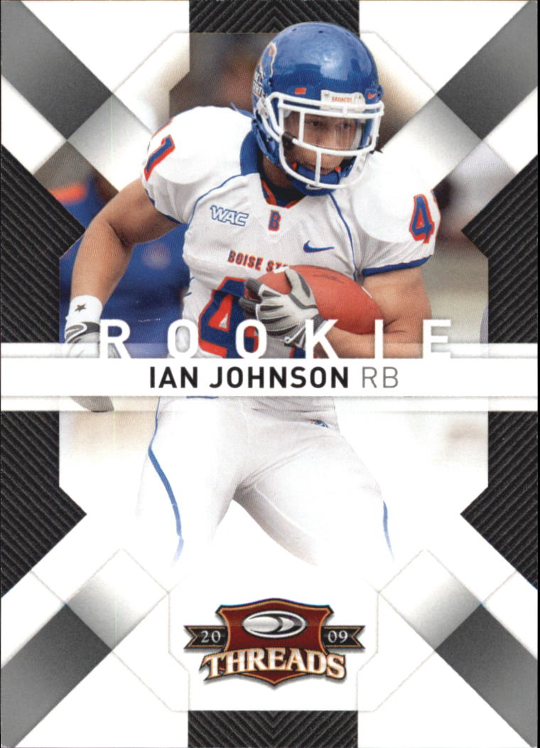 2009 Donruss Threads Retail Rookies #144 Ian Johnson RC
