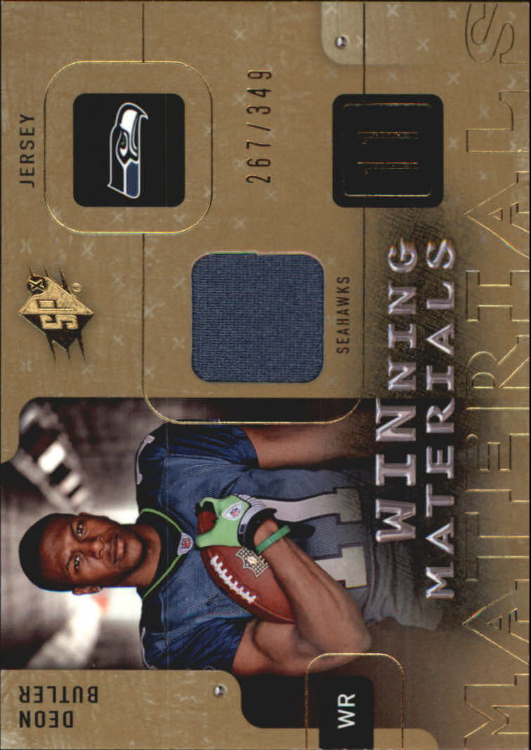 2009 SPx Winning Materials #WAV Donnie Avery/349