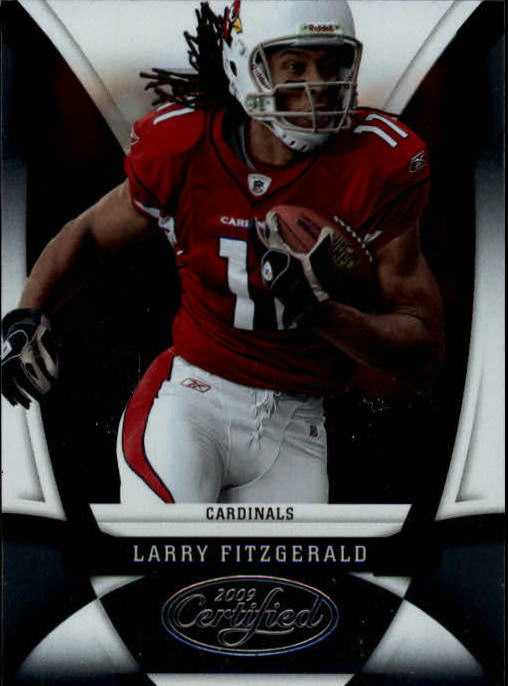 2009 Certified #4 Larry Fitzgerald