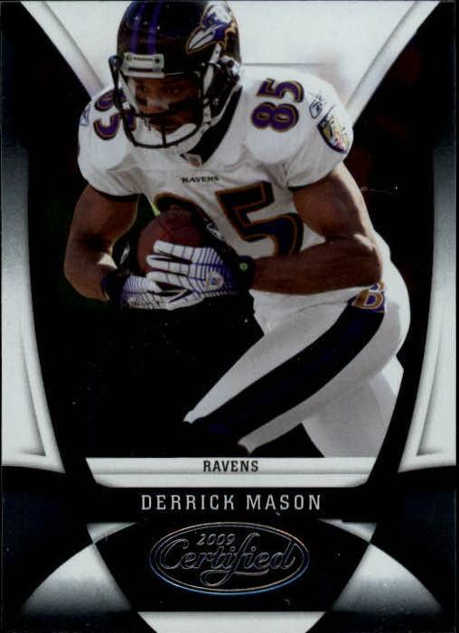 2009 Certified #10 Derrick Mason