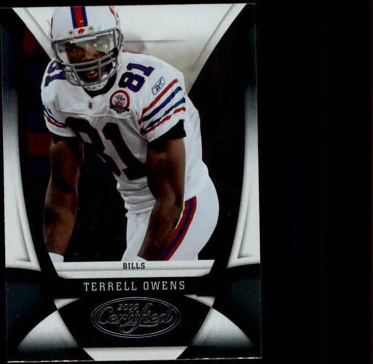 2009 Certified #16 Terrell Owens