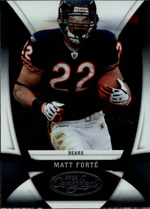 2009 Certified #25 Matt Forte