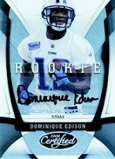 2009 Certified #154 Dominique Edison AU/399 RC