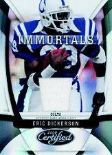 2009 Certified #206 Eric Dickerson JSY/250