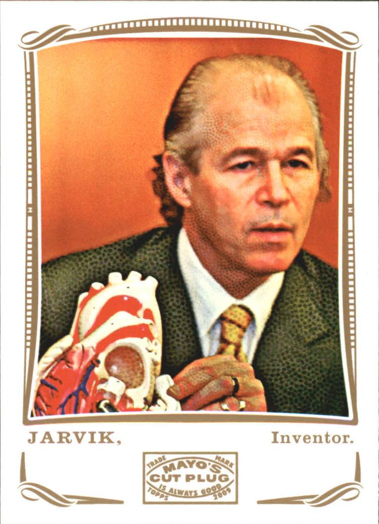 2009 Topps Mayo #215 Robert Jarvik inventor