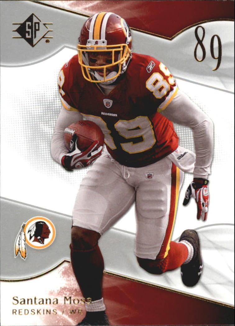 2009 SP Authentic Retail #3 Santana Moss
