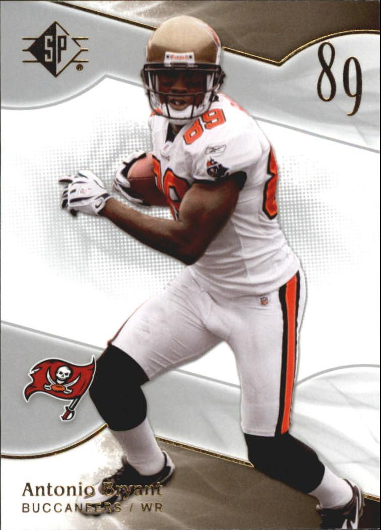 2009 SP Authentic Retail #9 Antonio Bryant
