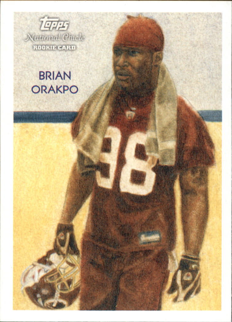 2009 Topps National Chicle #14 Brian Orakpo RC