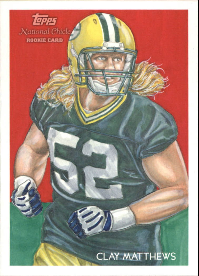 2009 Topps National Chicle #26 Clay Matthews SP RC