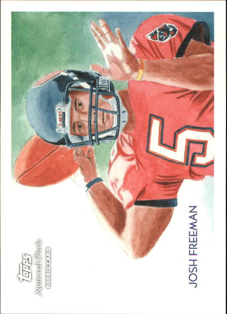 2009 Topps National Chicle #33 Josh Freeman SP RC