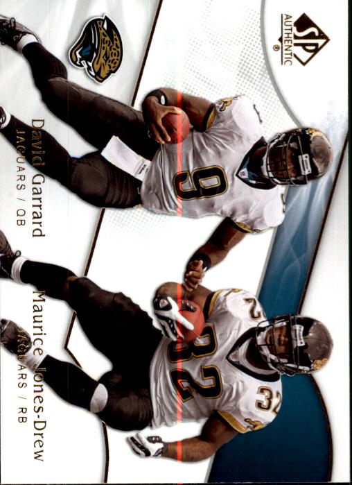 2009 SP Authentic #164 David Garrard/Maurice Jones-Drew