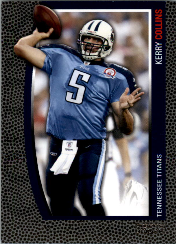 2009 Topps Unique #76 Kerry Collins/1829