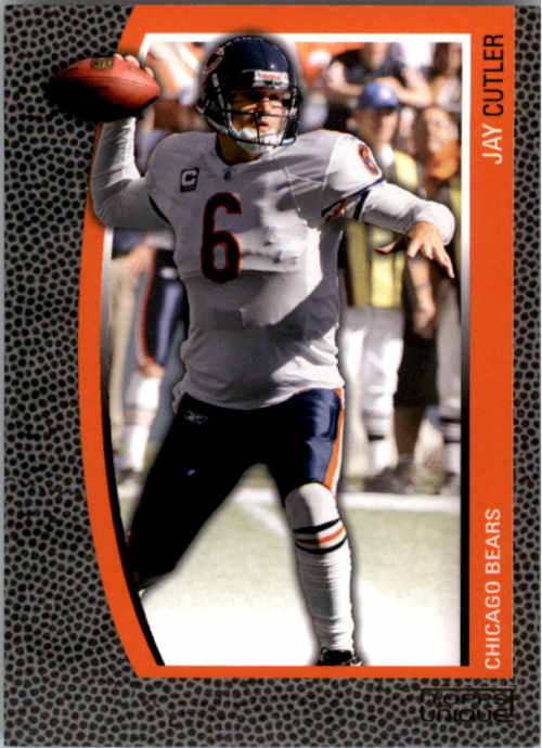 2009 Topps Unique #85 Jay Cutler/1829