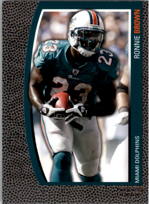 2009 Topps Unique #104 Ronnie Brown/1829