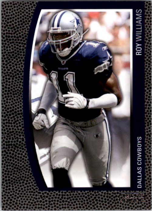 2009 Topps Unique #136 Roy Williams WR/1829
