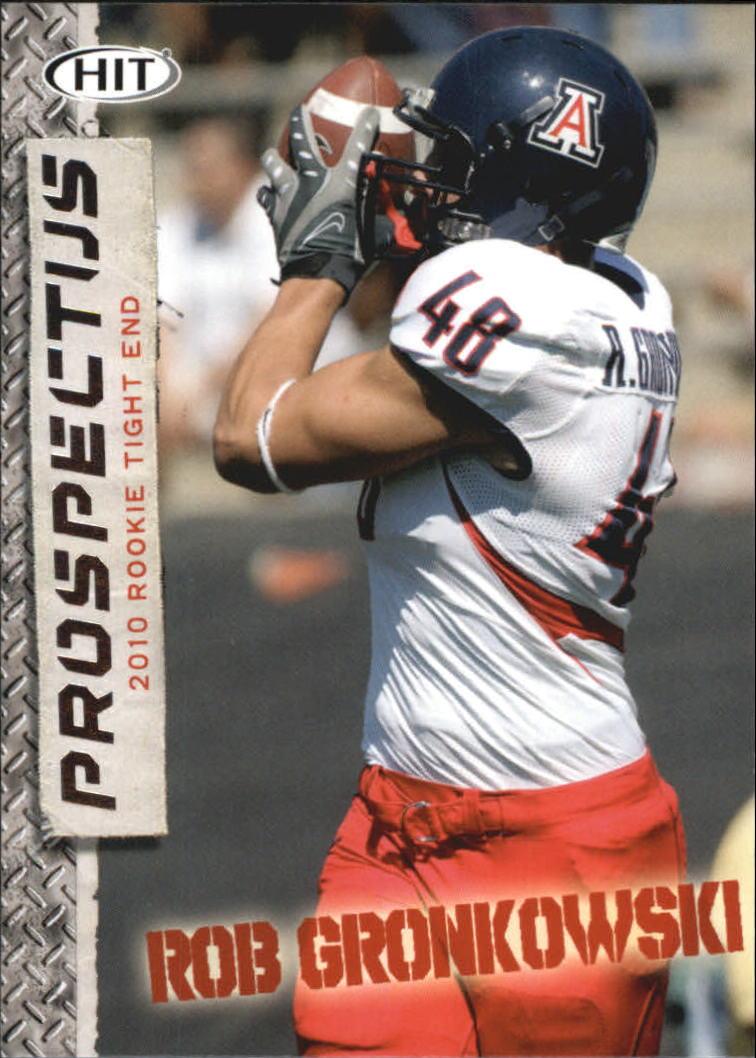 2010 SAGE HIT Prospectus #P22 Rob Gronkowski