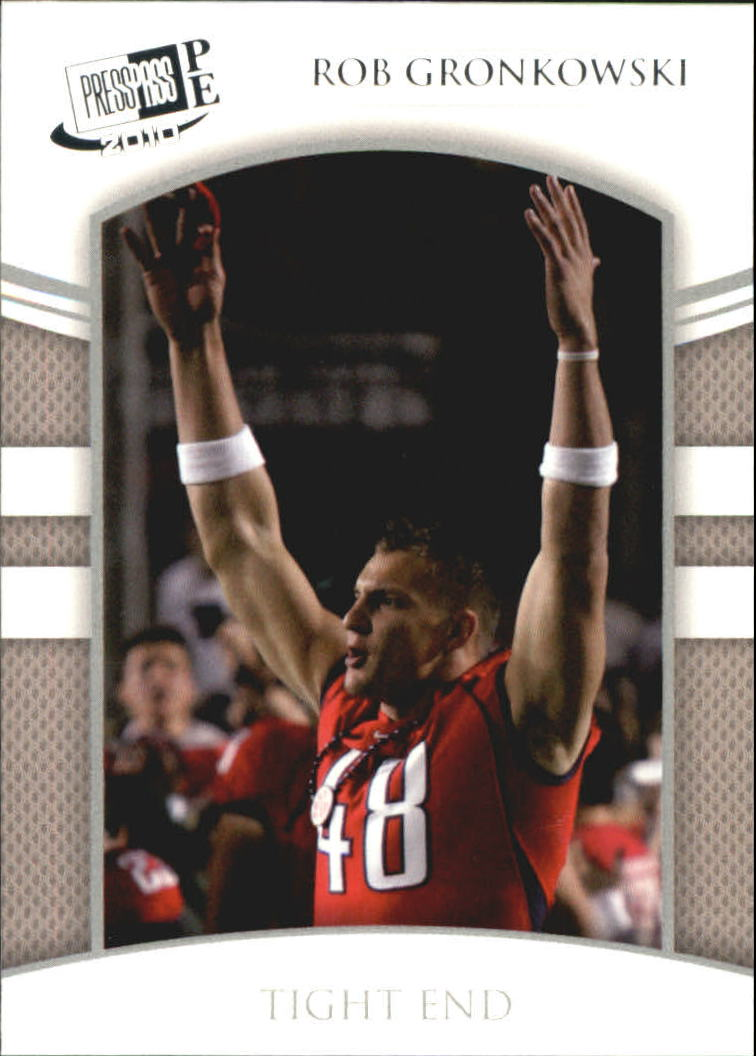 2010 Press Pass PE #21 Rob Gronkowski