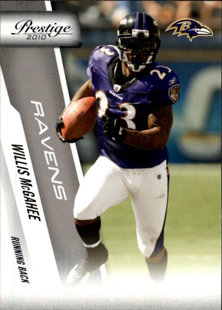 2010 Prestige #20 Willis McGahee