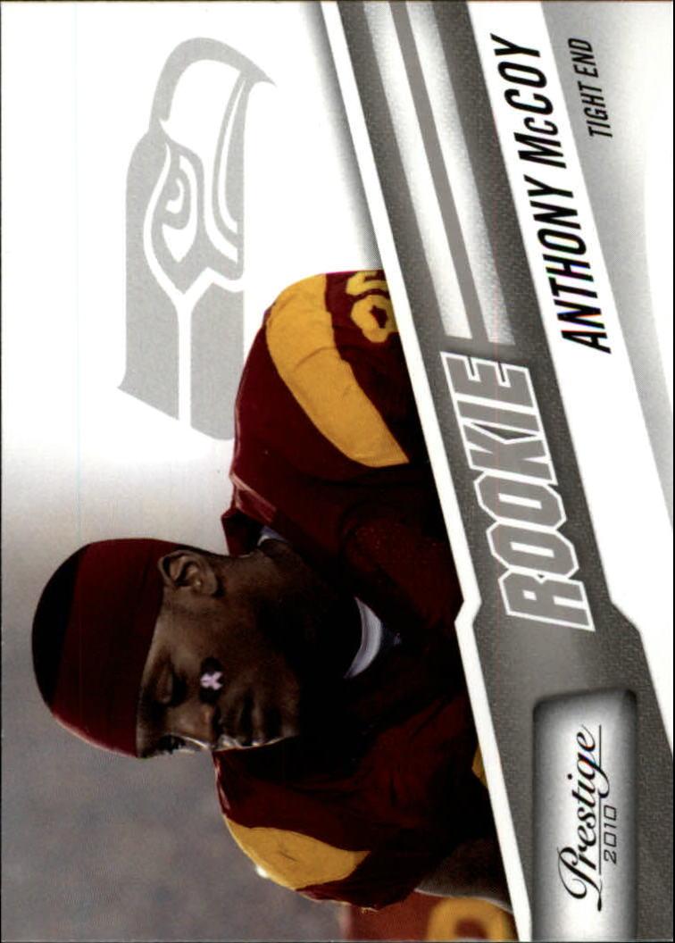 2010 Prestige #206 Anthony McCoy RC
