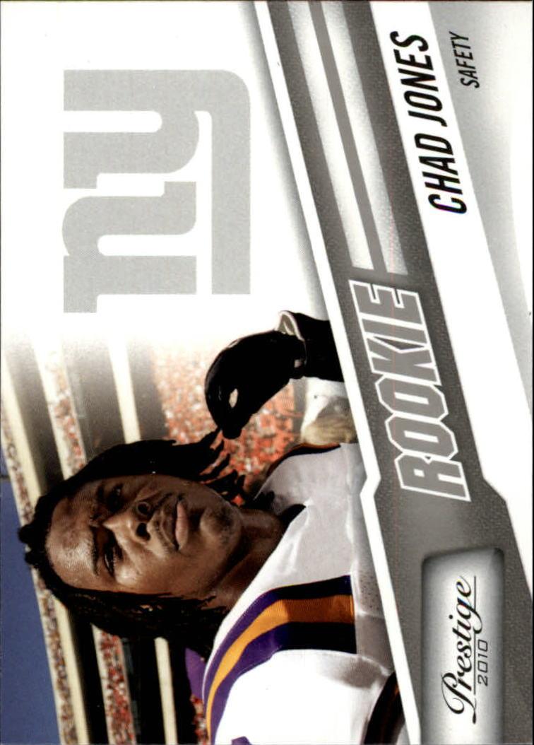 2010 Prestige #218 Chad Jones RC
