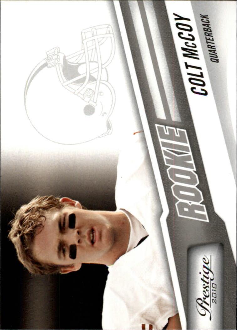 2010 Prestige #223 Colt McCoy RC