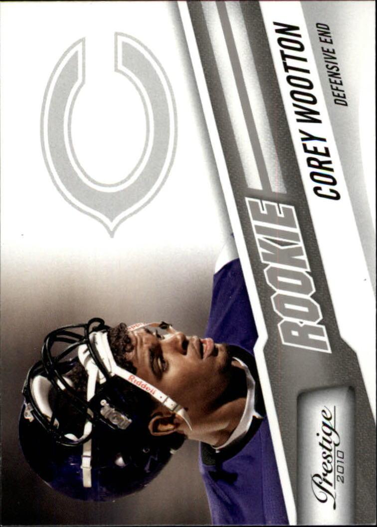 2010 Prestige #224 Corey Wootton RC