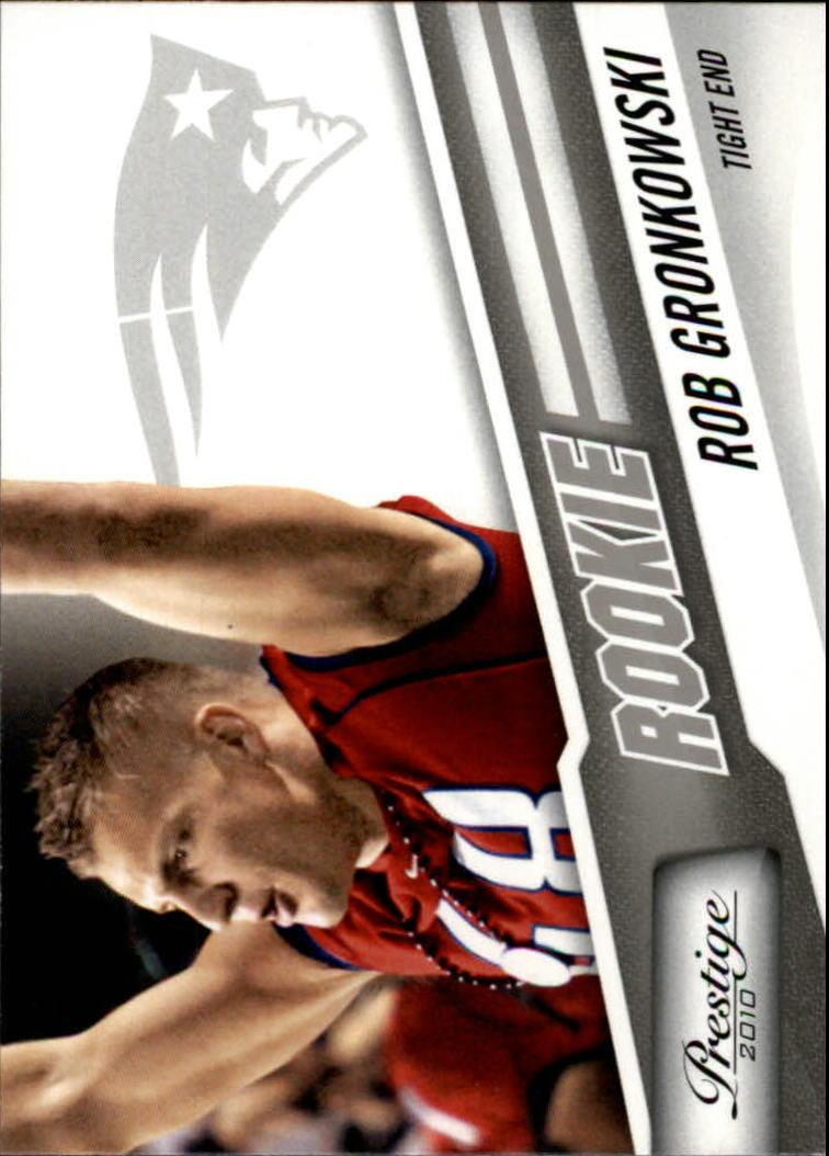 2010 Prestige #283A Rob Gronkowski RC