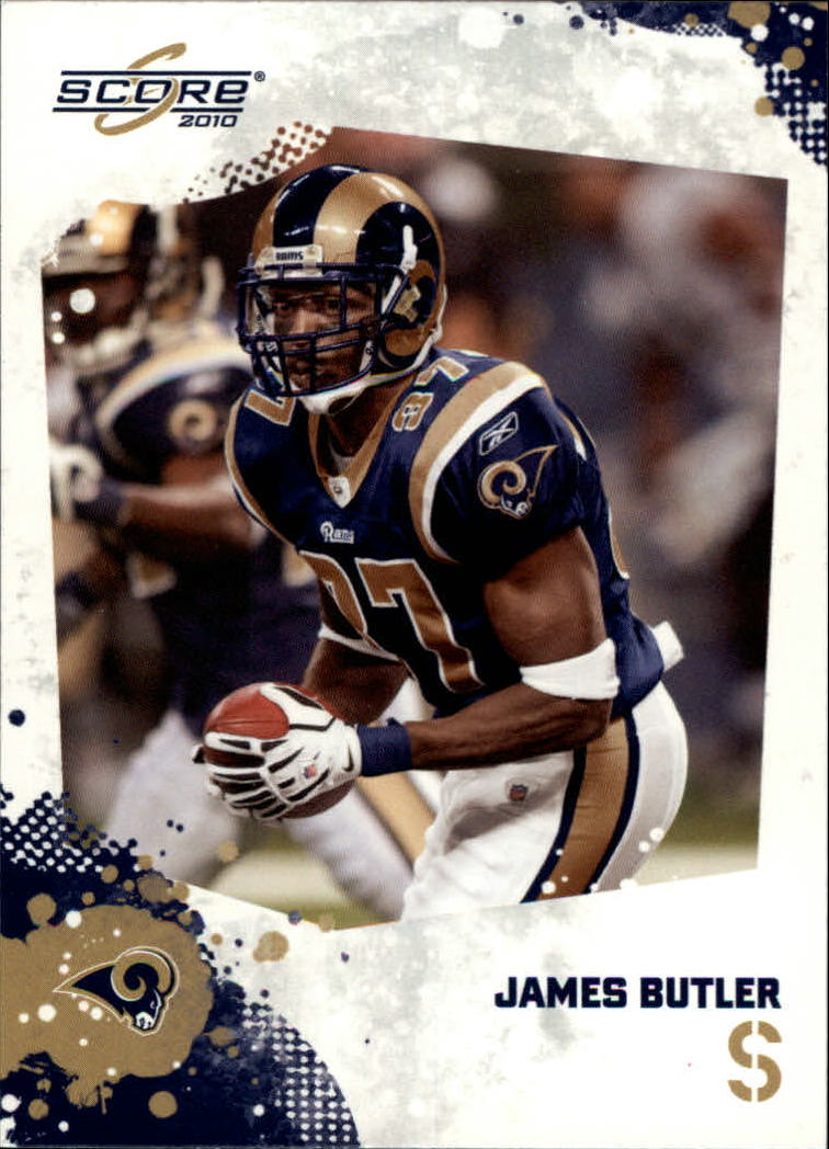 2010 Score Glossy #268 James Butler
