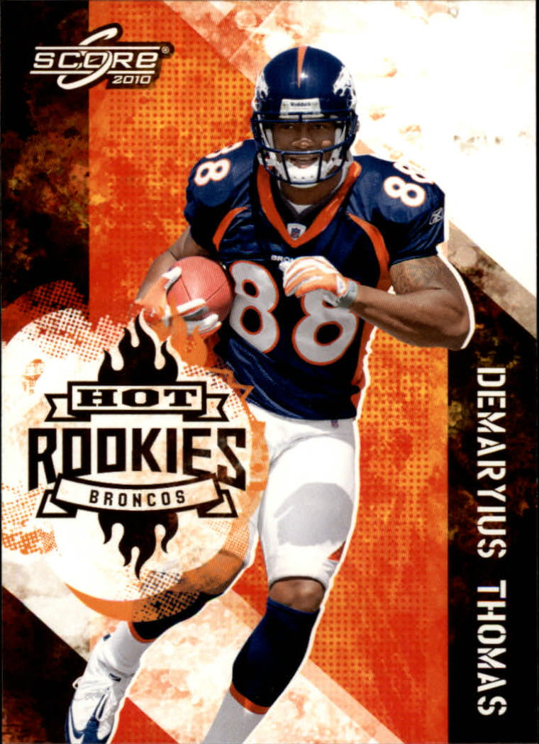 2010 Score Hot Rookies #19 Demaryius Thomas