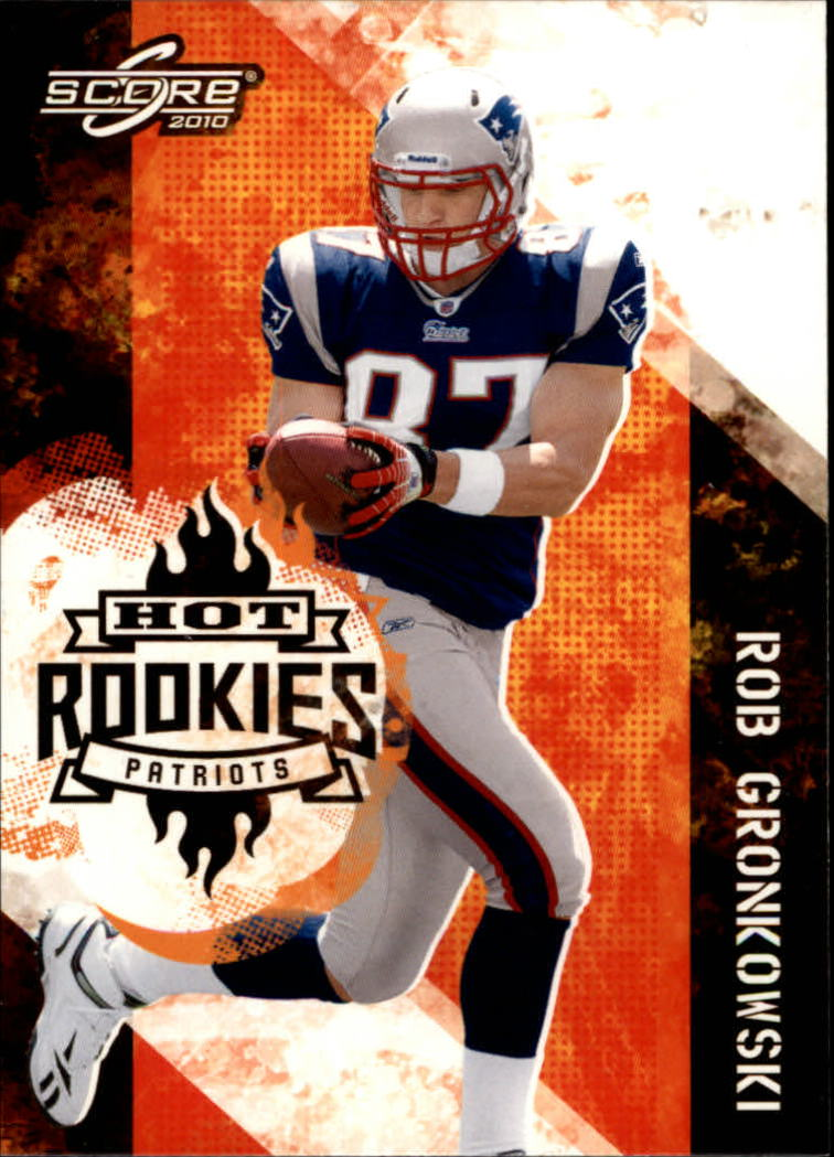 2010 Score Hot Rookies Glossy #26 Rob Gronkowski